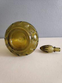 carafe à décanter vert ambré