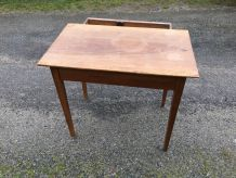 Table de ferme ancienne vintage