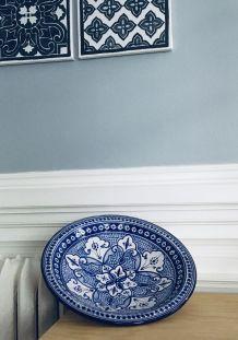 Grand plat céramique Tunisien