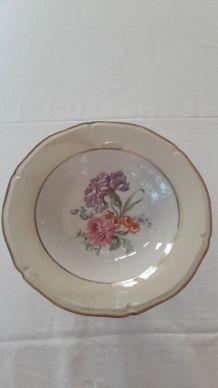 Compotier / plat à fruits Vintage porcelaine