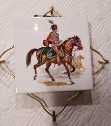Dessous de plat V.B La Ferté Gaucher modéle Cavalier