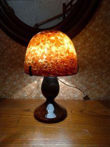 Lampe pâte de verre