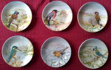 Assiettes porcelaine Sarreguemines