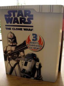 Starwars - the clone wars -3 robots à fabriquer soi-même