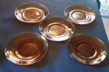 5 assiettes DURALEX