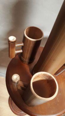carafe et verre bambou 1970