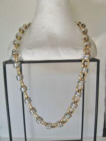 Collier Chaîne Maille Style Bijoux Créoles/Antillai