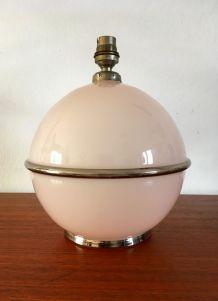 Lampe vintage en verre années 60