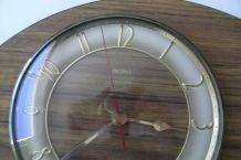 Horloge formica TROPHY transistor mécanisme quartz années 70