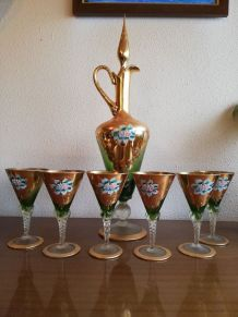 Service liqueur Murano