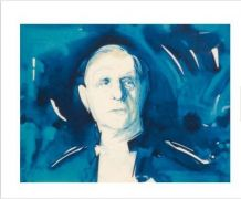 Lithographie de Gaulle