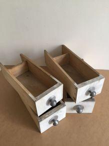 Ensemble de 4 tiroirs d'atelier