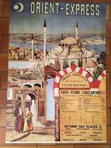 Grande affiche Orient-Express.