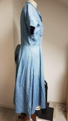 robe en jean vintage taille 36