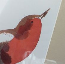 Affiche encadrée Oiseau