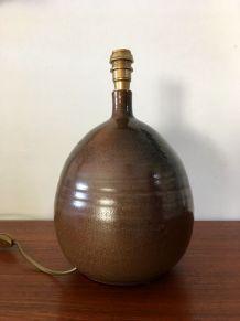 Lampe en céramique des ateliers Les Cyclades vintage