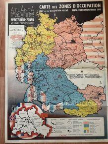Carte zones d'occupation
