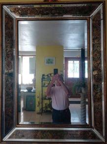 Miroir à pare closes Art Déco années 50