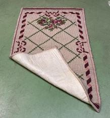 Tapis marocain en laine fait main - 1m33x78cm