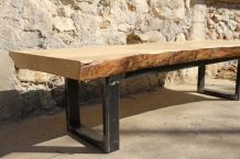 TABLE BASSE LIVE EDGE
