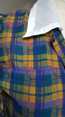 robe vintage fait main