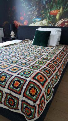 couvre lit patchwork