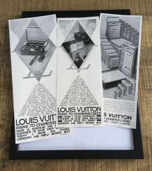 Lot 3  pubs années 30 Louis VUITTON