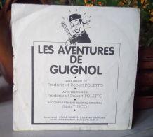45 tours - Les aventures de Guignol