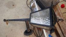 lanterne   fer forge  avec electricite ok