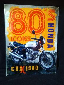 Plaque publicitaire Honda 30 x 40