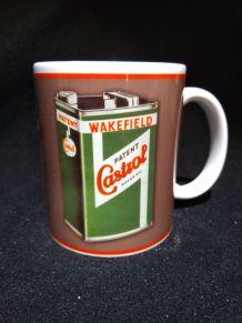 Lot de 2 mugs Castrol neufs