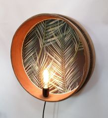 "Applique vintage, lampe murale ""Végétal"""