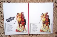 2 BD chevalier ardent - Casterman