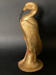 Statuette Oiseau IBIS Egyptien Epoque Art Déco France