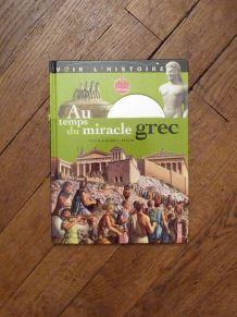 Au Temps Du Miracle Grec avec son DVD- Jean Pierre Adam