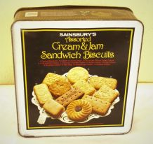 """Boîte à biscuit en métal """"Sainsburry"""""""