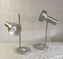 Set de 2 Lampes articulées vintage – années 60