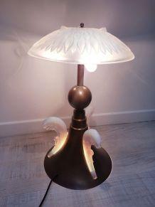 Lampe-opalescente-art-déco