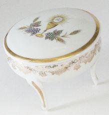 Bonbonnière en porcelaine souvenir de communion