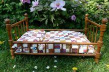 Ancien lit de poupée - Style Napoléon 3