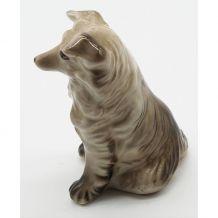 Statue chien céramique