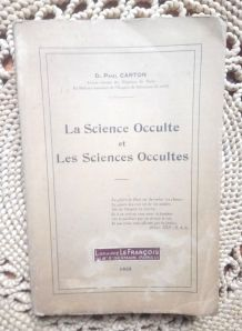 La science occulte et les sciences occultes 1935