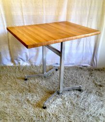 Table bistrot moderniste années 60/70