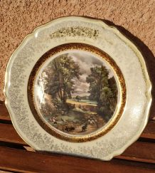Assiette décorative vintage