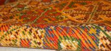 Tapis ancien Marocain Berber fait main, 1C292