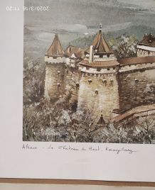 Lithographie de Maurice Legendre