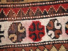 Tapis ancien Turc Prière Melas fait main, 1C316