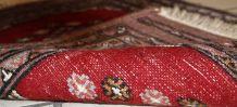 Tapis vintage Ouzbek Bukhara fait main, 1C320