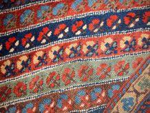 Tapis ancien Oriental fait main, 1B97