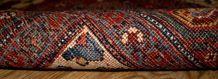 Tapis ancien Oriental fait main, 1B194